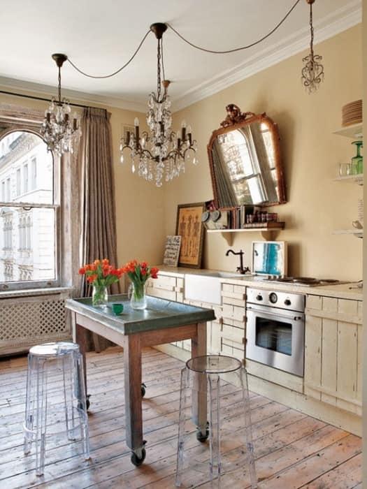 Кухня в квартире дизайнера Bea Deza