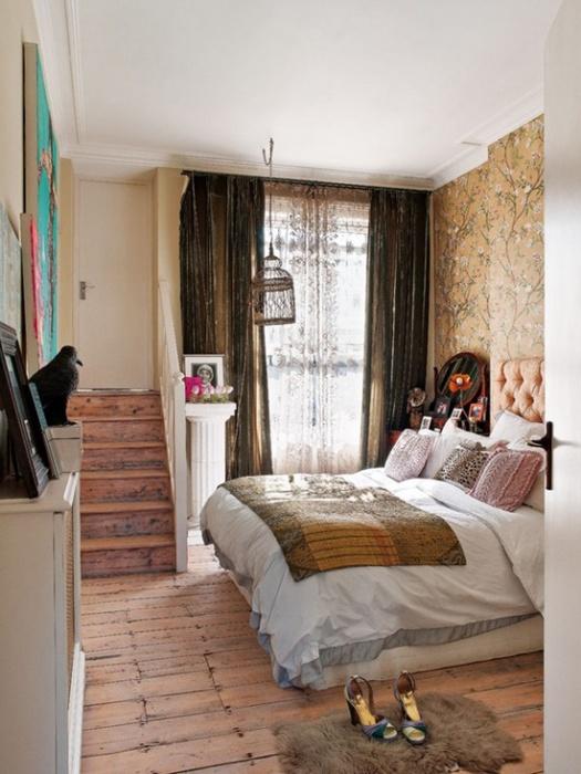 Спальня в квартире дизайнера Bea Deza
