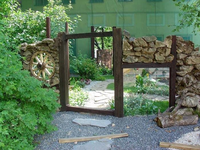 Маскировка непреглядных участков при помощи зеркала