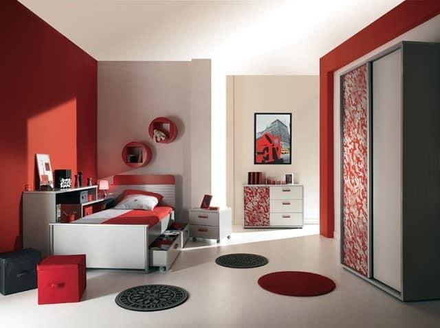 Комната юноши подростка в стиле авонгард
