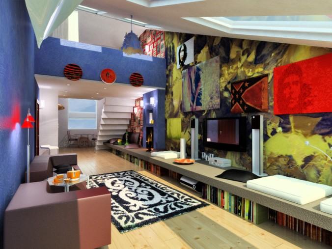 Дизайн комнаты для подростка мальчика 14 лет