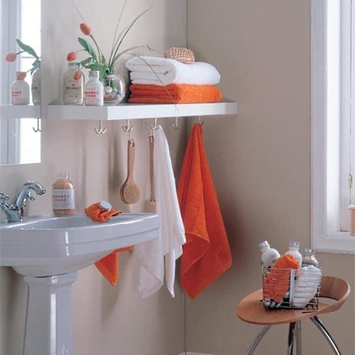 Хранение полотенец в ванной комнате
