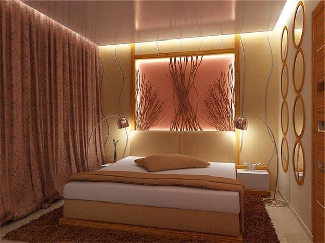 Красивая маленькая спальня фото