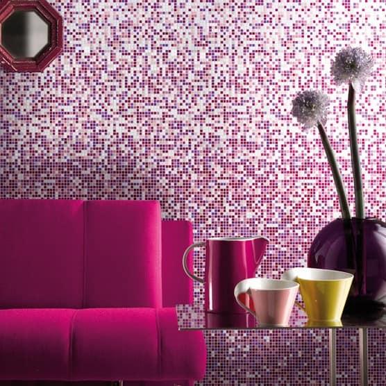 Мозаика в декоре стен