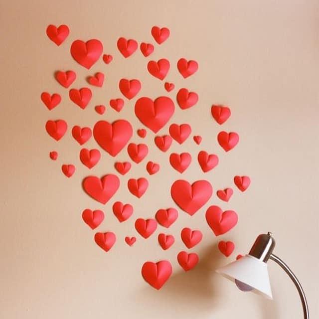 3D сердечки