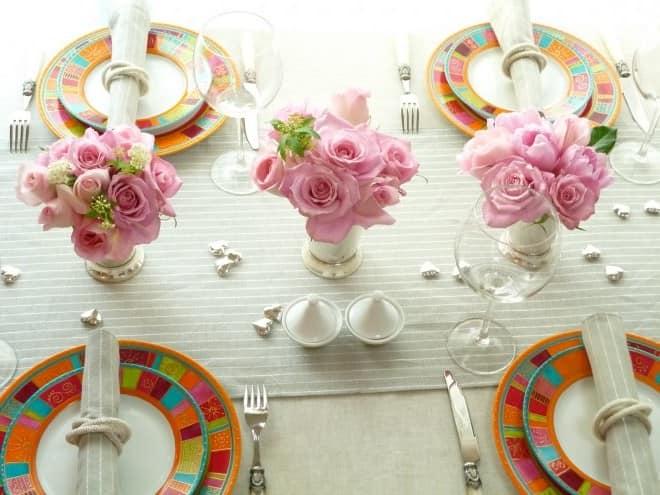 Красивая сервировка стола: фото идеи, праздничная сервировка