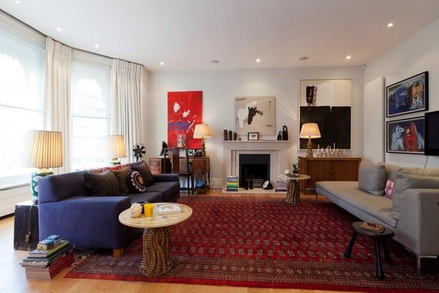 Интерьер квартиры в богемном стиле