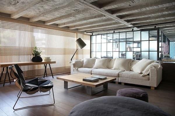 Квартира-студия в богемном стиле