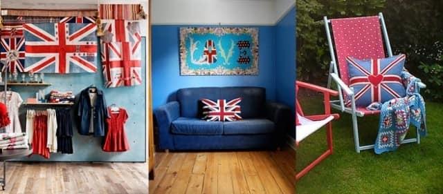 Идеи для использования английского флага