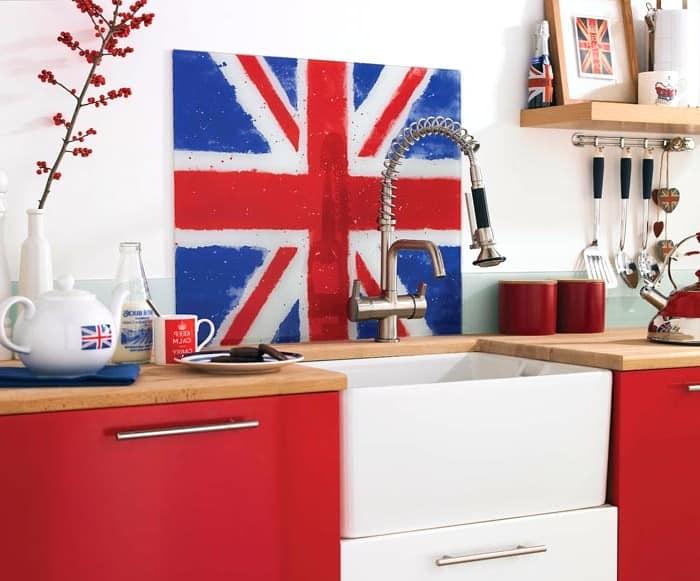 Украшаем британским флагом квартиру или дом