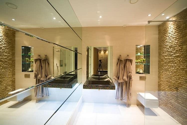 идеальный интерьер, дополненный зеркалами