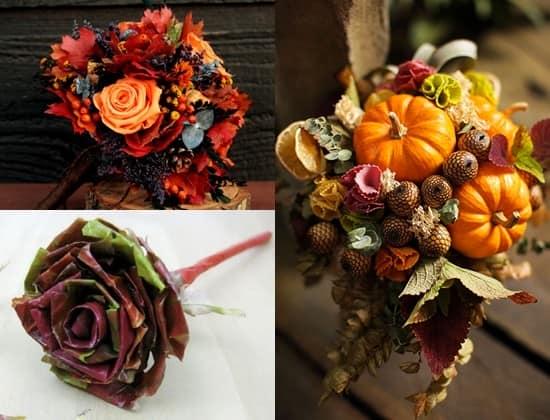 Композиции из осенних цветов с примерами