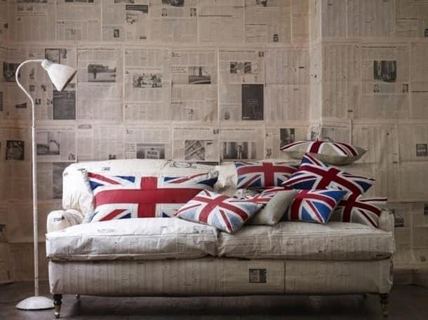 Подушки с английским флагом украсят любой диван