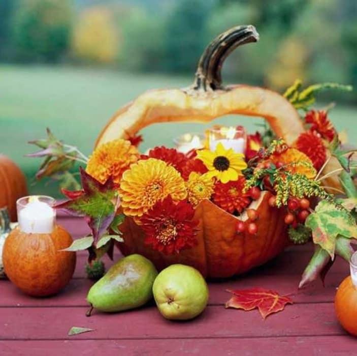 Осенние поделки из тыквы своими руками (44 фото)