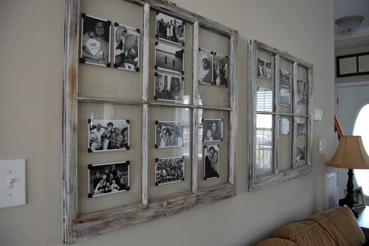 Дверная рамка для фотографий