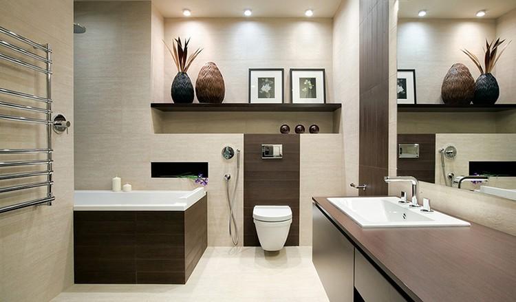 Как вписать ниши в интерьер ванной комнаты
