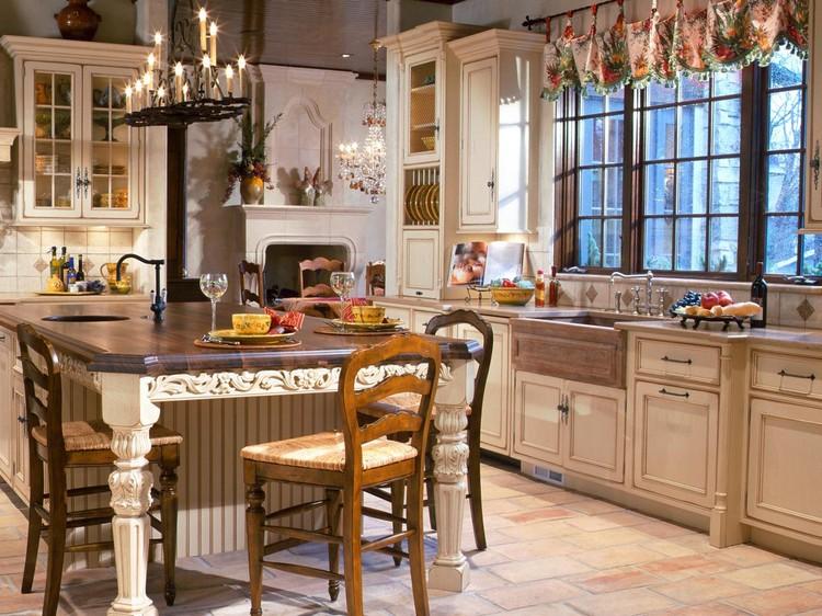 Кухня в английском интерьере
