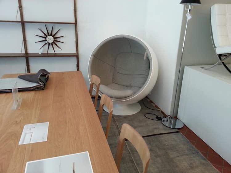 Для такого кресла найдется место даже в рабочем кабинете
