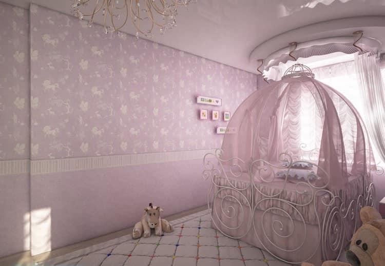 Спальня маленькой принцессы