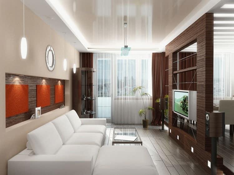 Зонирование помещения в комнате