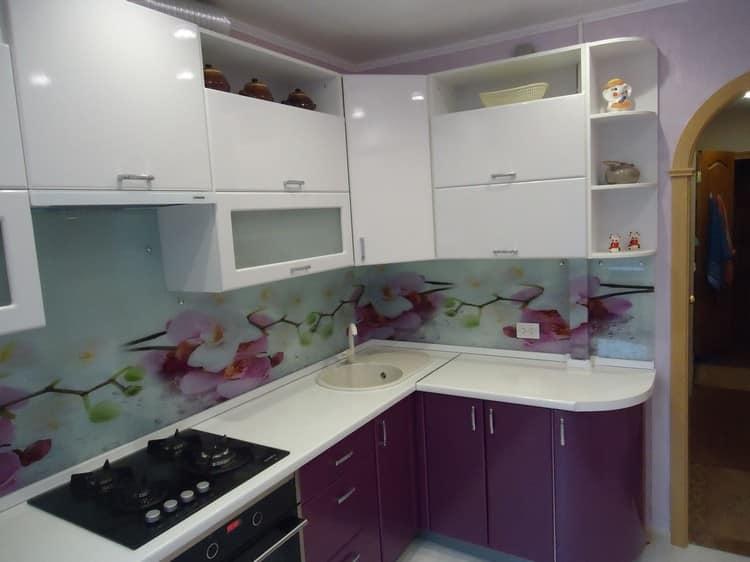 Угловая кухня 6 кв м дизайн