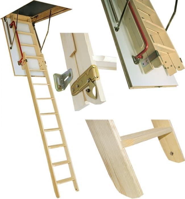 Комплектация лестниц