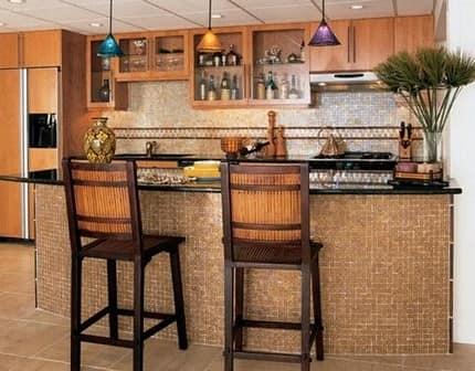 Мозайка на кухне