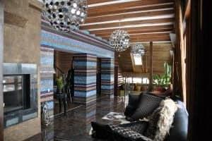 Мозайка в гостиной