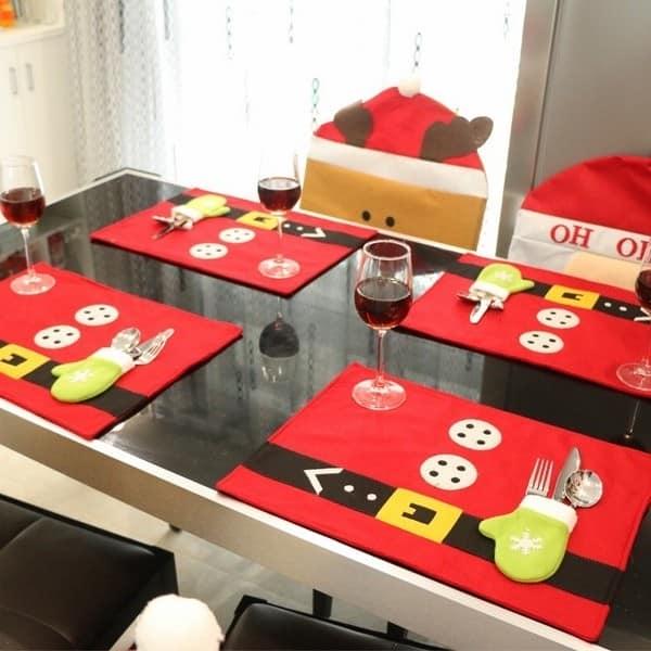 Новогодний декор праздничного стола