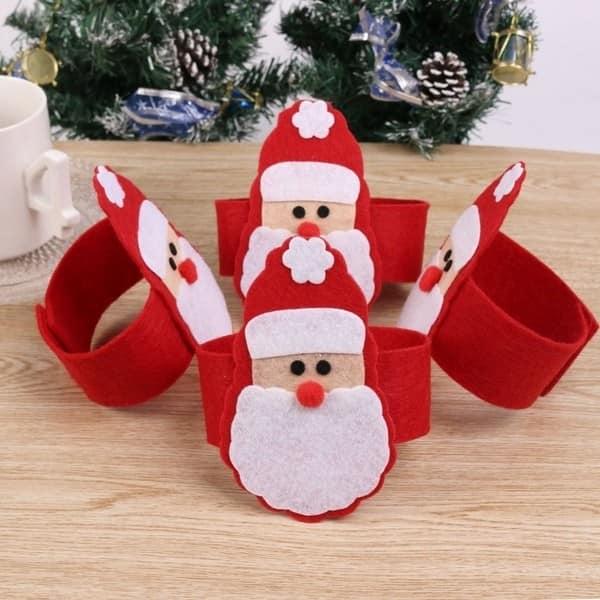 Кольца для приборов - Санта-Клаус