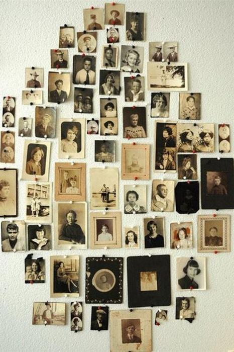 Старые фото в интерьере (43 фото)