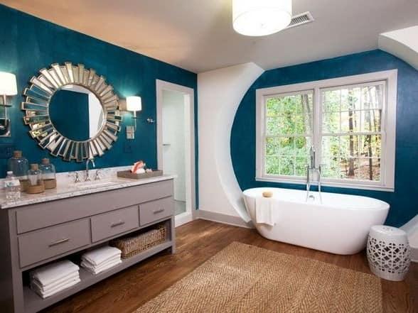 Интерьер в ванной