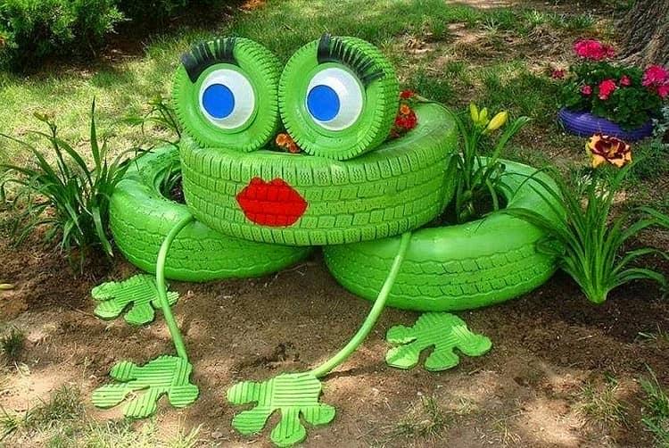 Поделка лягушка