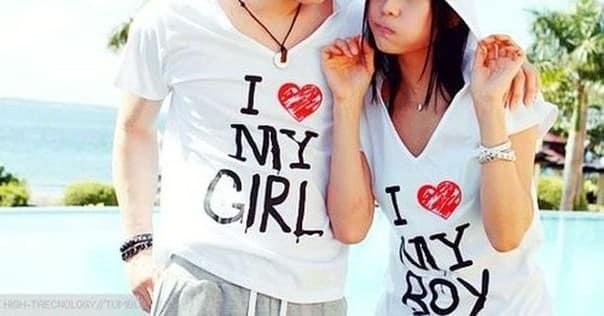 Парные романтичные футболки также можно дарить на день святого Валентина ему  и ей