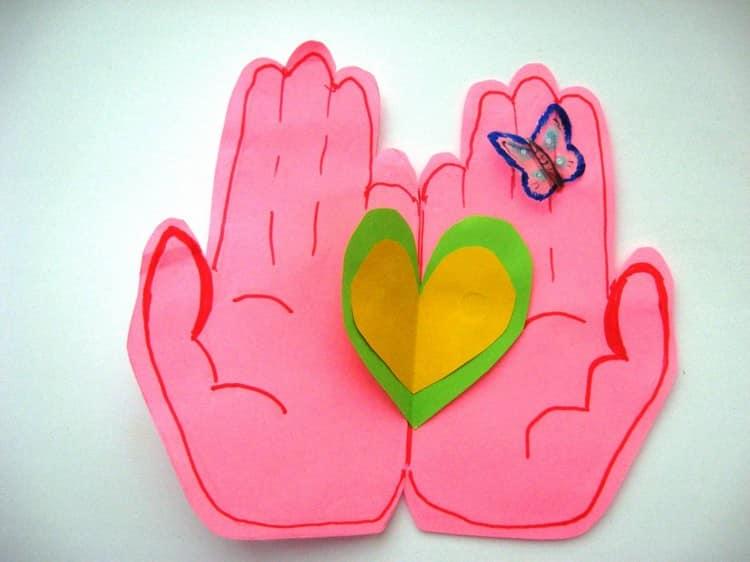 Фото валентинок которые сделаны своими руками
