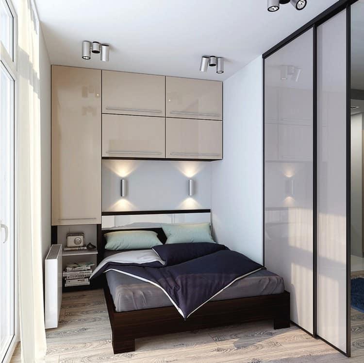 дизайн и интерьер маленькой спальни 36 фото
