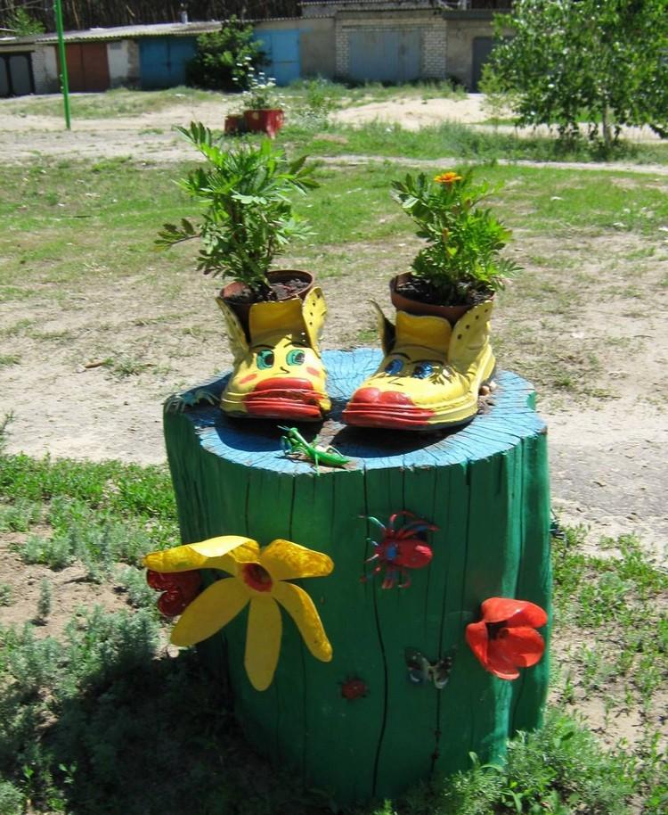 Поделки из для сада и огорода своими руками