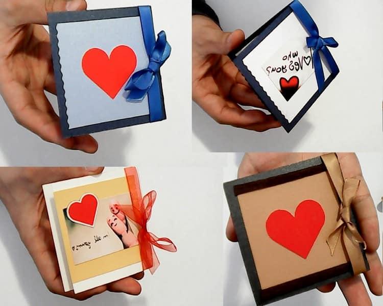 Валентинки на 14 февраля своими руками (43 фото)