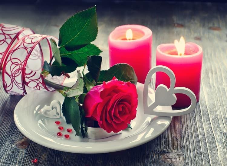 Оформление к празднику святого Валентина