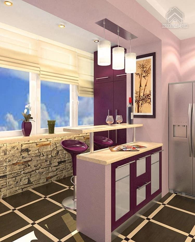 Дизайн маленьких балконов в квартире. советы специалистов..