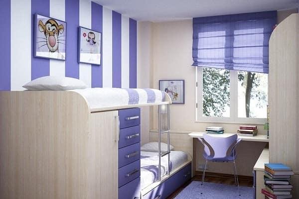 Мебель детской комнаты в хрущевке