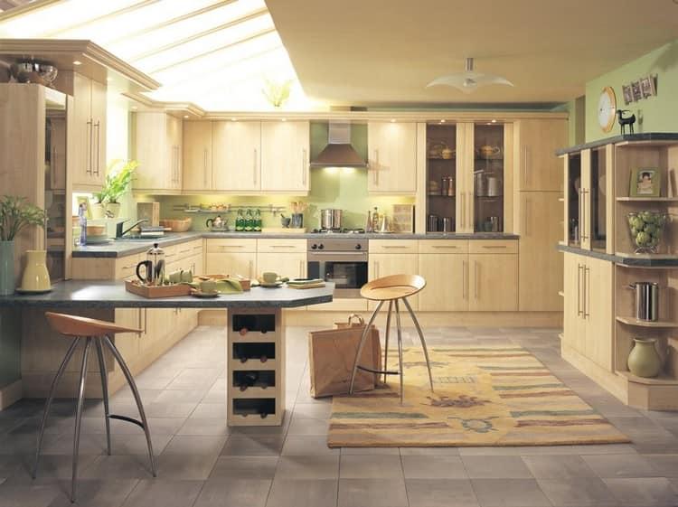 Интерьер столовой и кухни по фэн-шуй