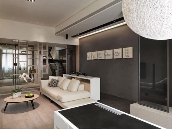 Гостиная в серых тонах: выбираем стиль интерьера
