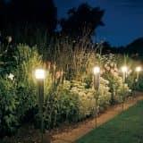 Декоративные уличные светильники для сада и дачи (35 фото)