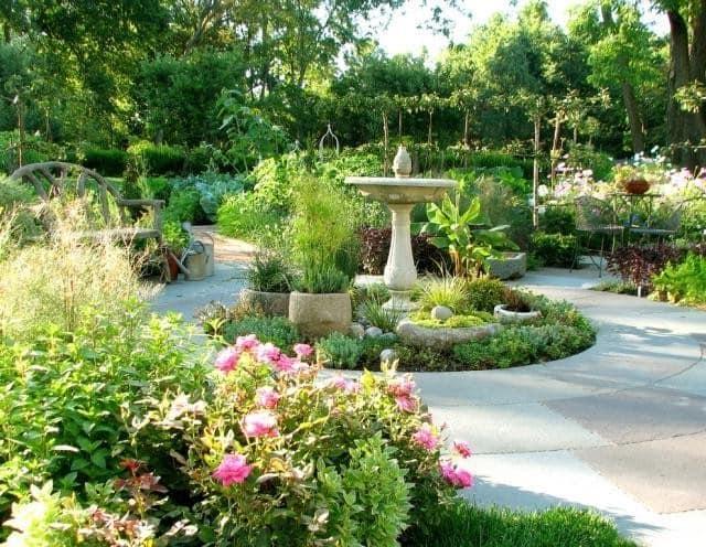 Современный огород в английском стиле