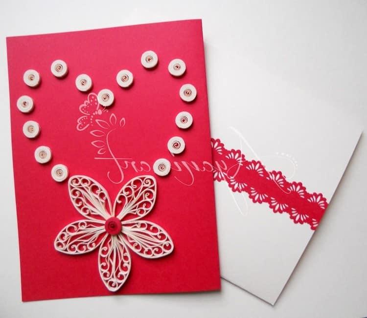 Как сделать валентинку на 14 февраля из бумаги