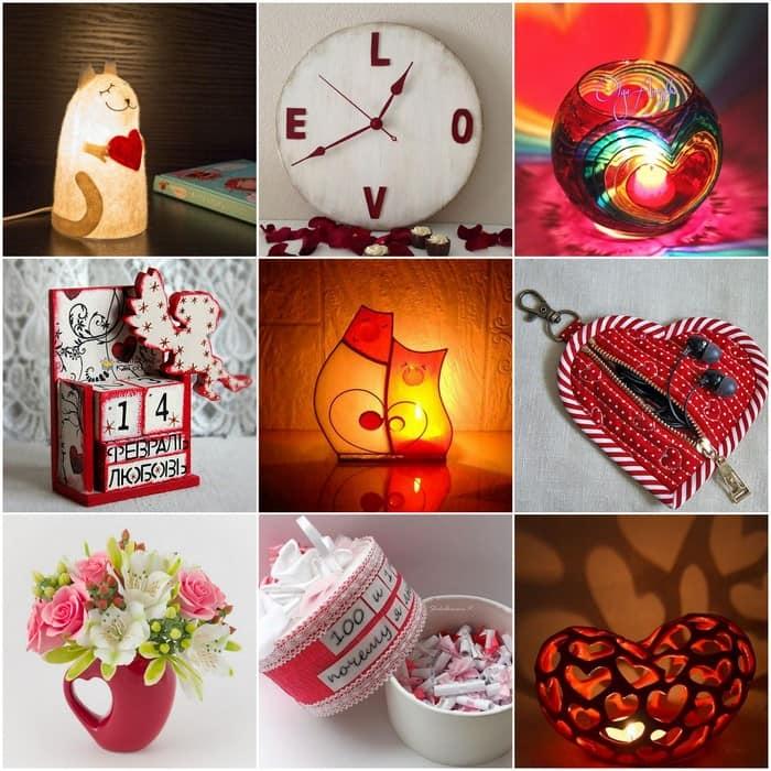 Часы, свечи, коробочки, светильники и другие подарки