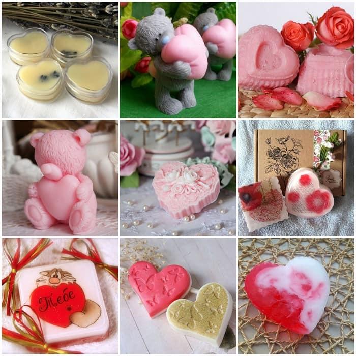 Самодельное мыло для дня Валентина