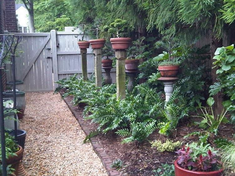 Шикарные вазоны из дерева и глиняных цветочных горшков