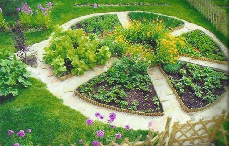 Ландшафтный дизайн сад и огород своими руками 31